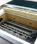 Sistemul de curățare a schimbătorului de căldură